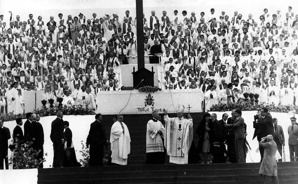 Papa João Paulo 2º no Brasil