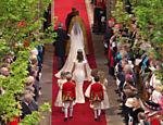 Kate Middleton chega ao tapete vermelho da abadia de Westminster <a href=
