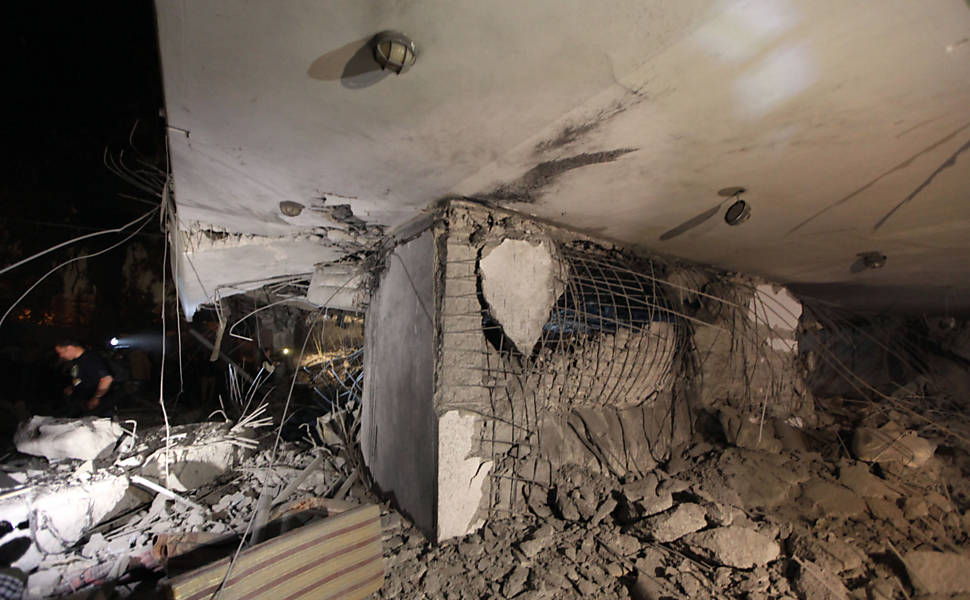 Bombardeio em Trípoli