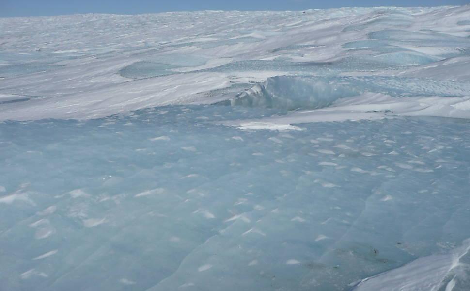Aquecimento na Groenlândia