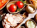 Acompanhamentos e ingredientes do restaurante Rodeio <a href=
