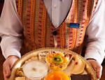 Opções de doces do restaurante Arabia, vencedor Árabe na opinião do júri <a href=