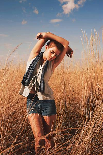 Emma Watson vira estilista ecológica