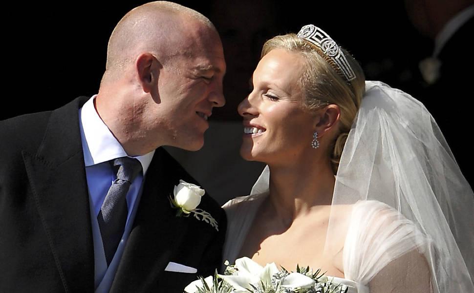 Casamento de Zara Phillips