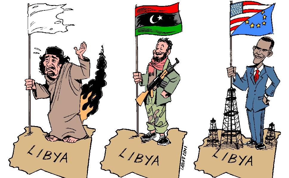 Cartunista brasileiro 'esboça' Líbia do futuro