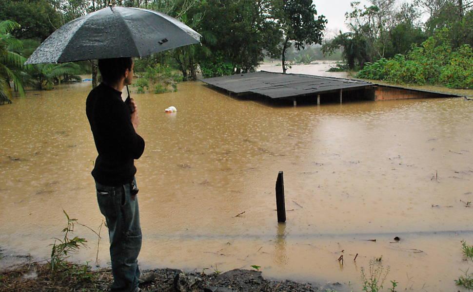 Chuva em Santa Catarina
