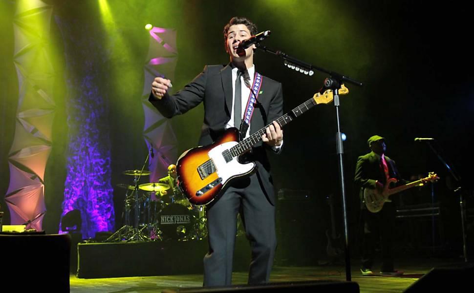 Nick Jonas & The Administration em São Paulo