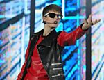 O cantor Justin Bieber se apresenta no estádio do Morumbi, em São Paulo <a href=
