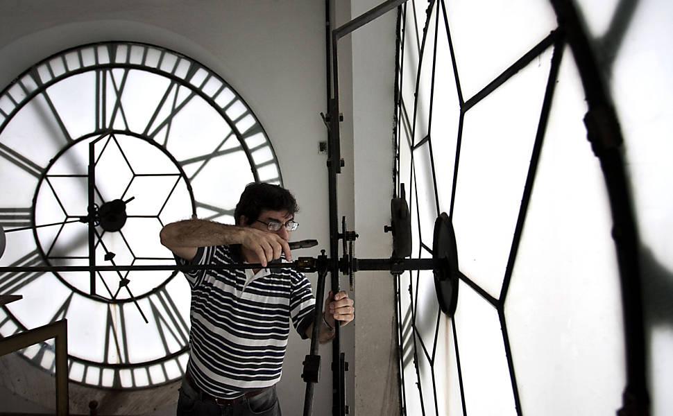 Relógio da Estação da Luz