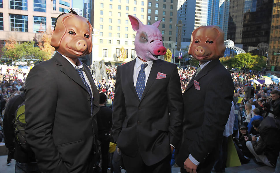 Protestos contra o Capitalismo