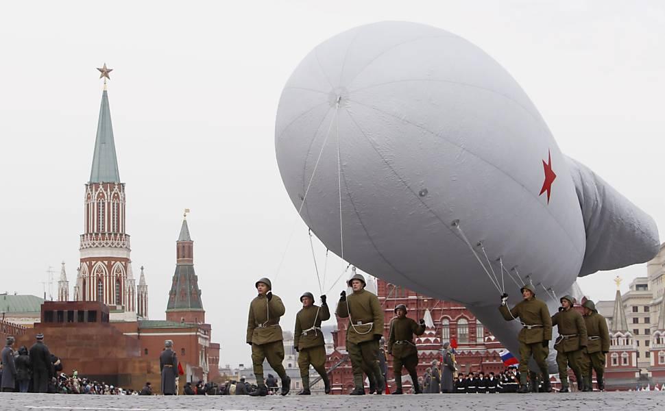 Parada militar na Rússia