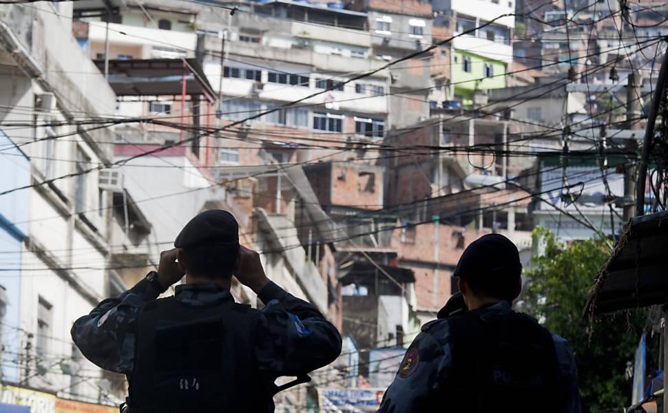 Operação Policial na favela da Rocinha