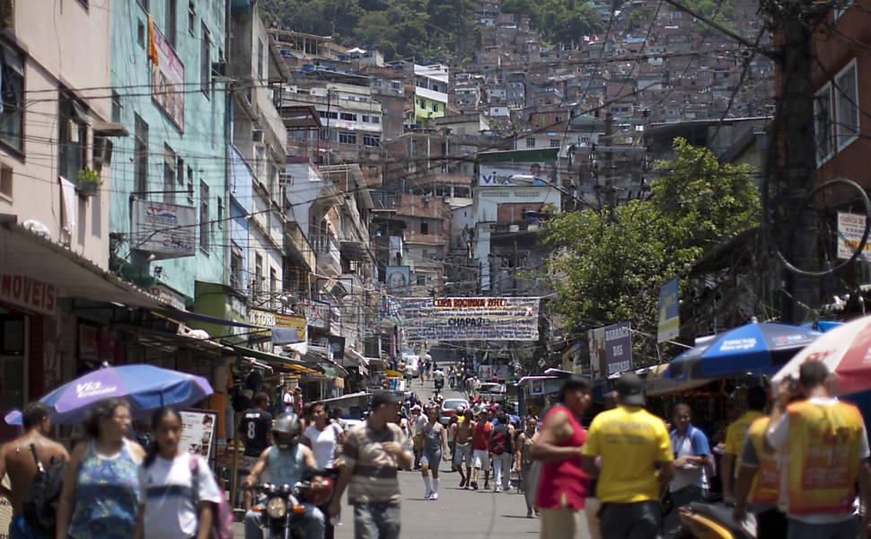 Opera��o Policial na favela da Rocinha
