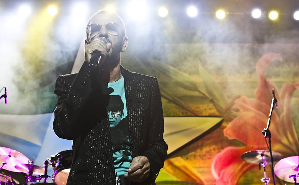 Show de  Ringo Starr em São Paulo