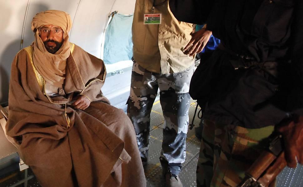 Saif al Islam, filho de Gaddafi