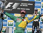 A vitória no Brasil, em 2006, a primeira dele no país