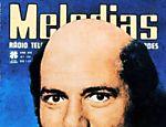 O apresentador e empresário Silvio Santos aparece careca na capa da revista