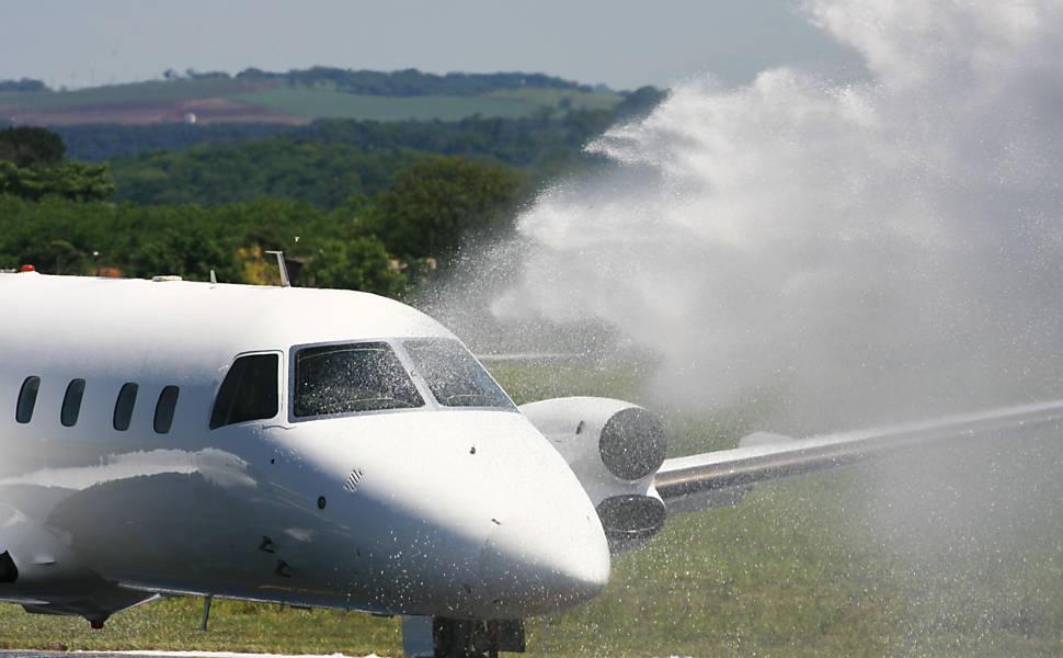 Simulado de acidente aéreo em Ribeirão Preto