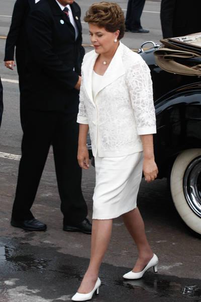 Confira os visuais usados pela presidente Dilma Rousseff