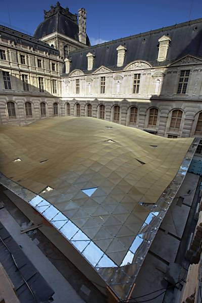 Obras no Museu do Louvre