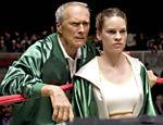 Hilary Swank e Eastwood em cena de