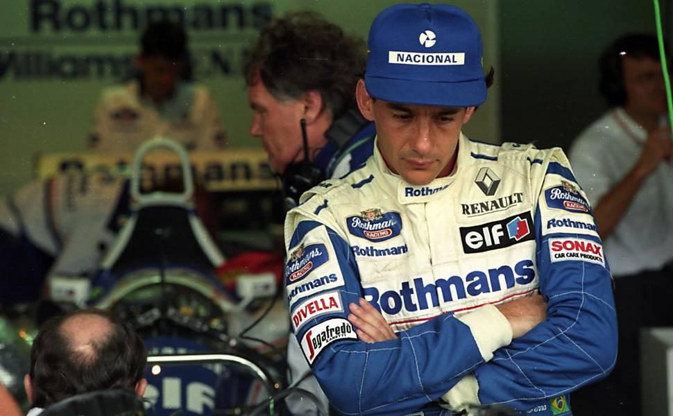 Ayrton Senna na Williams