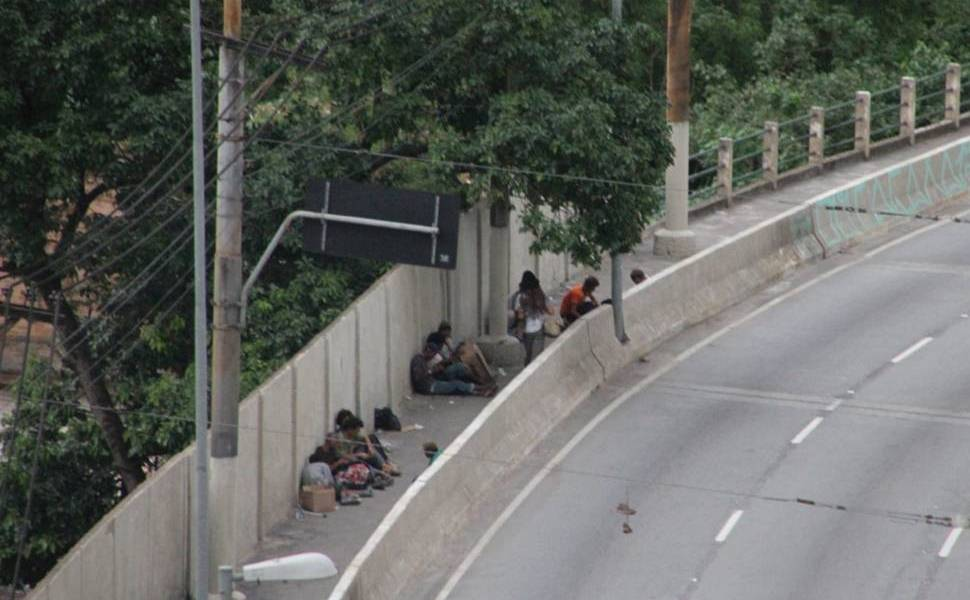 Usuários de crack em São Paulo