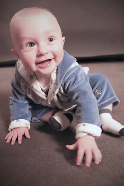 Conheça o bebê Micah
