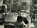 Rua Augusta em outubro de 1977 <a href=