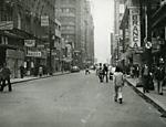 Rua Barão de Itapetininga, no Centro, em 1972 <a href=
