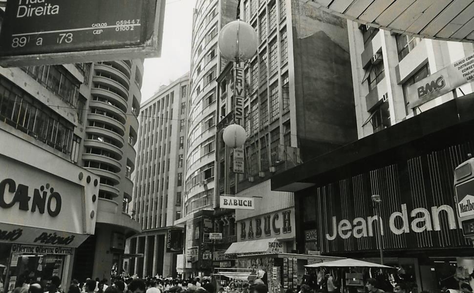 São Paulo na década de 80