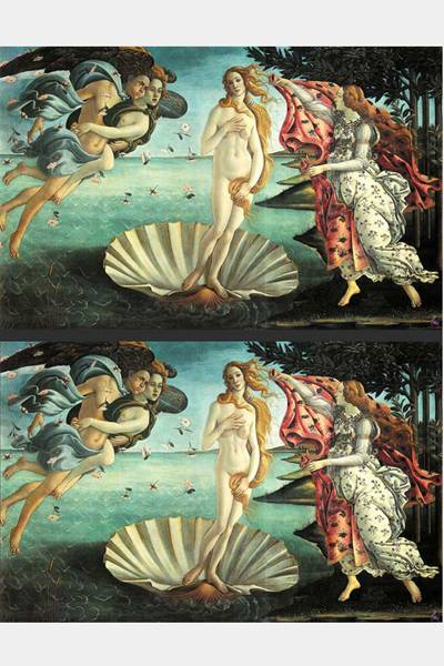 Vênus 'photoshopadas'