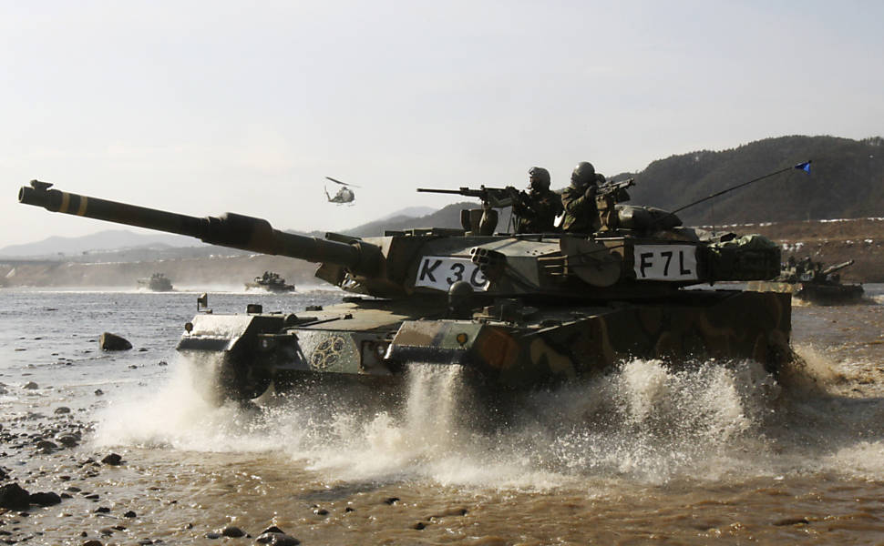 Treinamento militar na Coreia do Sul