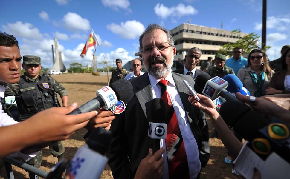 Greve da PM em Salvador