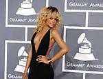 Rihanna na entrega do Grammy deste ano em Los Angeles