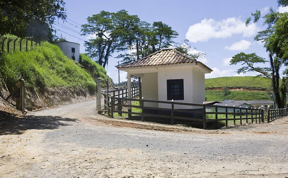 Fazenda do presidente da CBF, Ricardo Teixeira