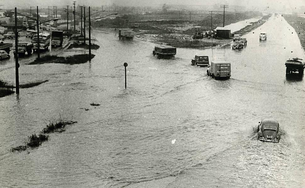 Histórico de enchentes