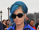 Katy Perry no desfile de Viktor & Rolf em Paris