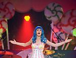 Katy Perry em show na Georgia, nos EUA