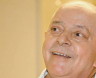 O ex-presidente, depois da última sessão de radioterapia a que se submeteu, em fevereiro