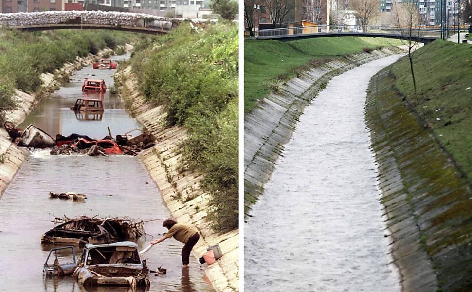 Guerra na Bósnia: antes e depois