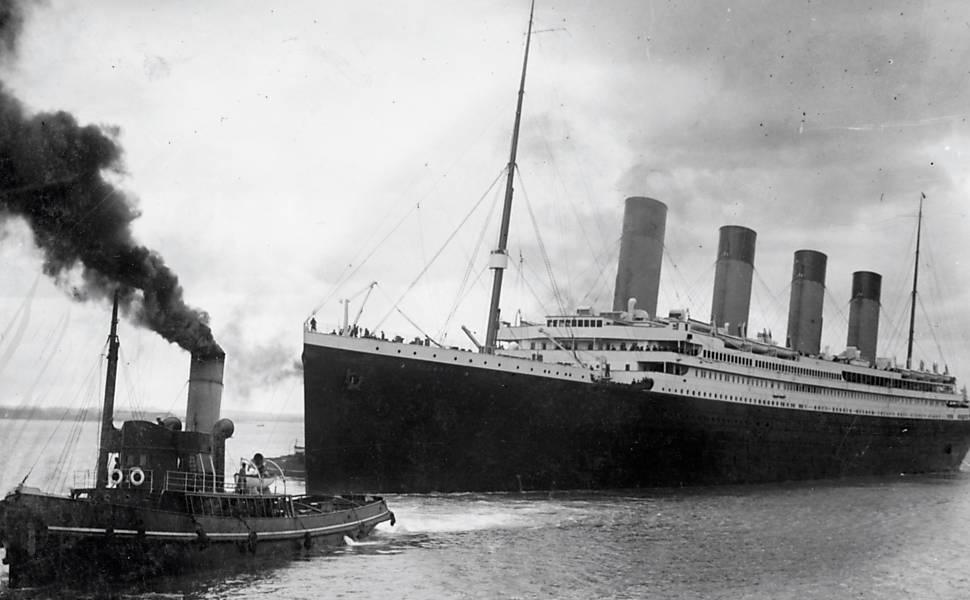 Veja imagens históricas do Titanic