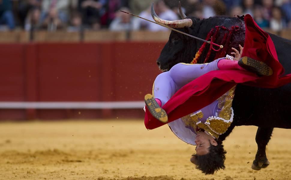 Toureiro ferido em Sevilha