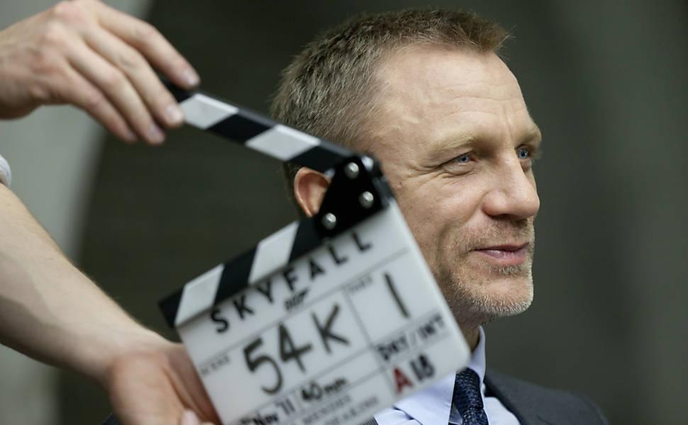 Filmagens do novo James Bond