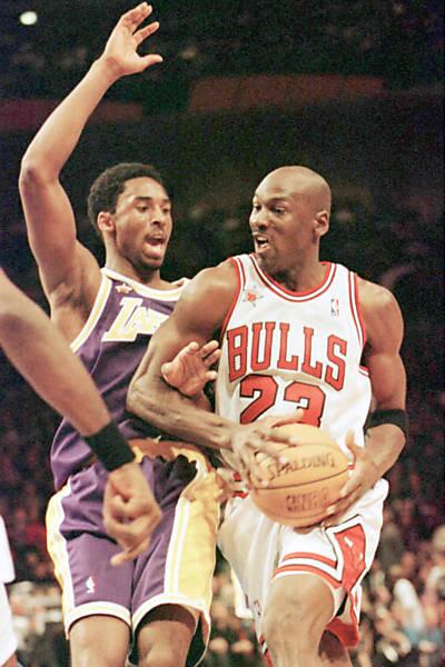 Isto é Michael Jordan