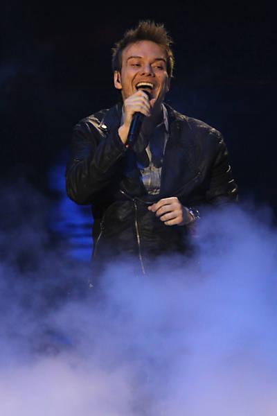 Michel Teló na premiação latina da Billboard