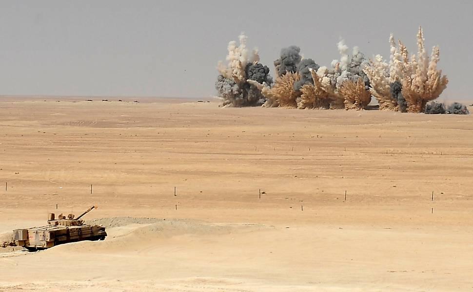 Treinamento militar no Emirados Árabes Unidos