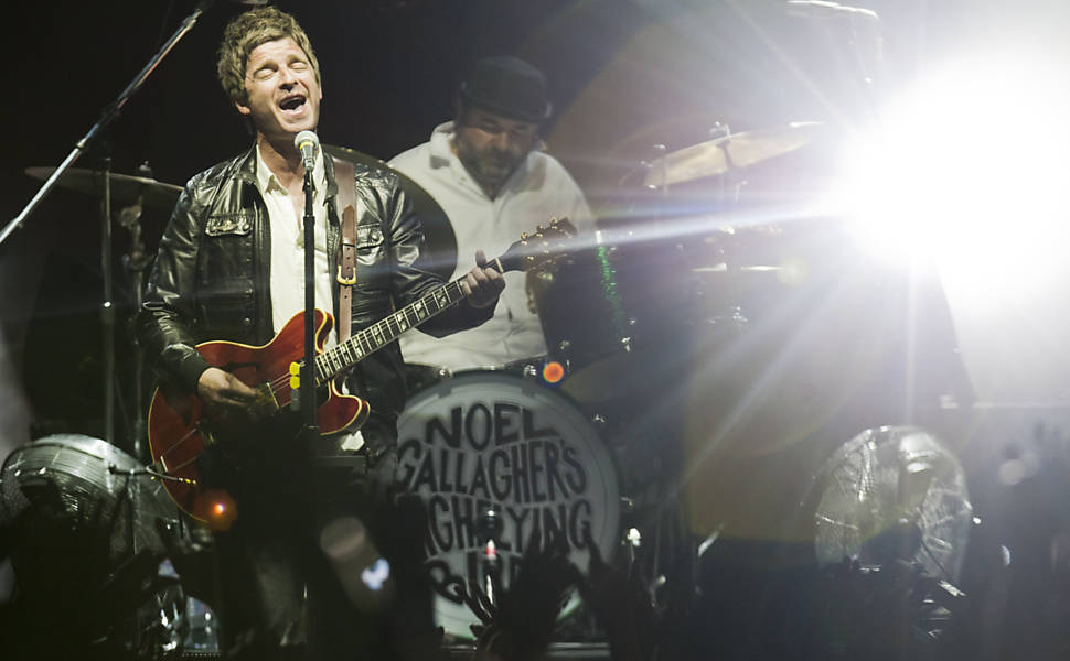 Noel Gallagher se apresenta em São Paulo