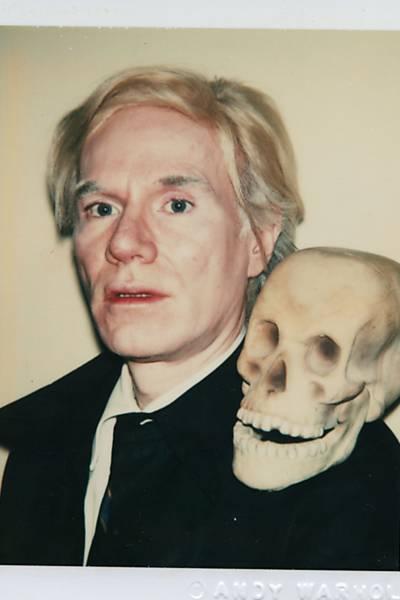Superfícies Polaroides de Andy Warhol