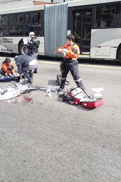 Leitores registram acidentes em SP